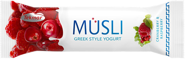 MUSLI IN GREEK STYLE YOGURT